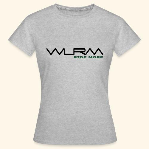 WLRM Schriftzug black png - Frauen T-Shirt