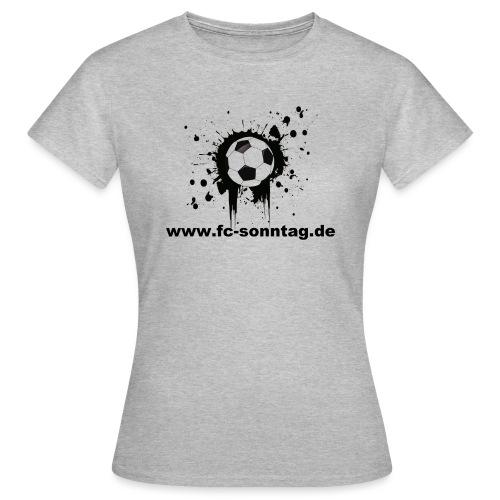 FC Sonntag Ball - Frauen T-Shirt