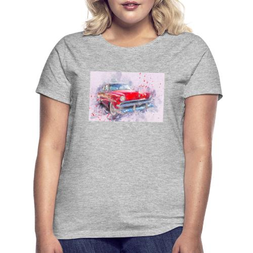 Ein Schönes Retro Auto t-shirt - Frauen T-Shirt