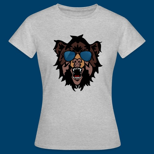 The Grizzly Beast - Women's T-Shirt