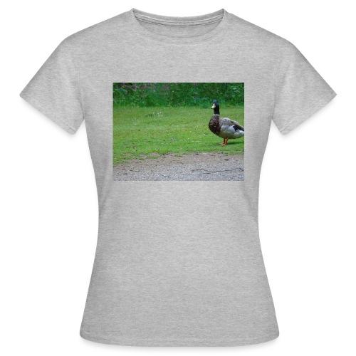 A wild duck - Women's T-Shirt