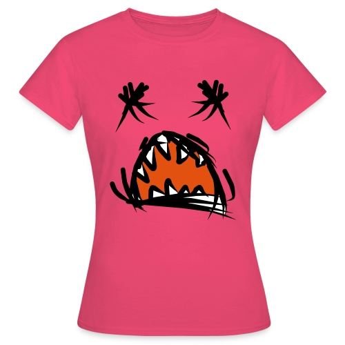 horror mond - Vrouwen T-shirt