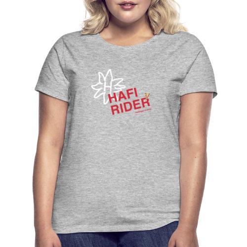 Hafi-Rider / Haflinger / Pferd / Pony - Frauen T-Shirt