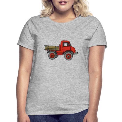 Roter Lastwagen, LKW, Laster - Frauen T-Shirt