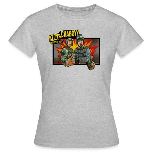 Chaaboy_final_box_done_flattened.png - Women's T-Shirt