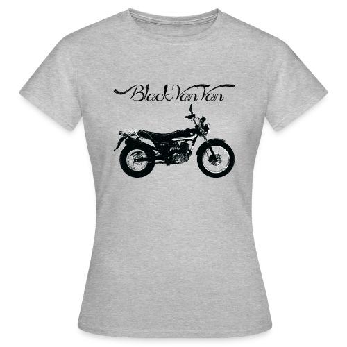 Black Van Van - Women's T-Shirt