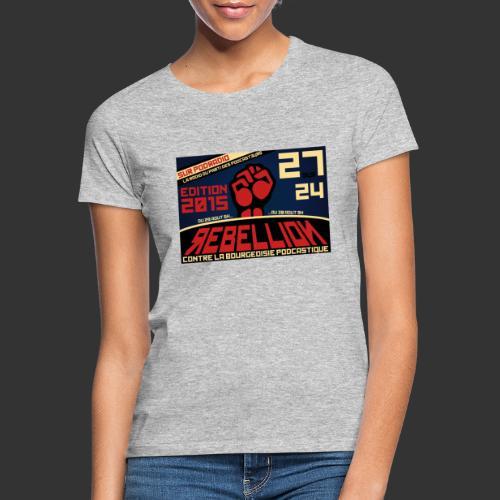27/24 Edition 2015 - T-shirt Femme