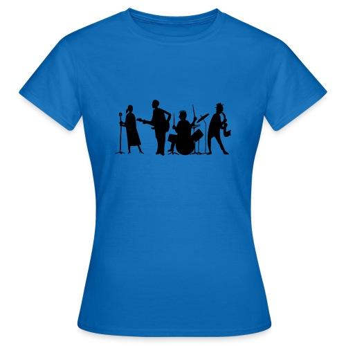 jazz - Naisten t-paita