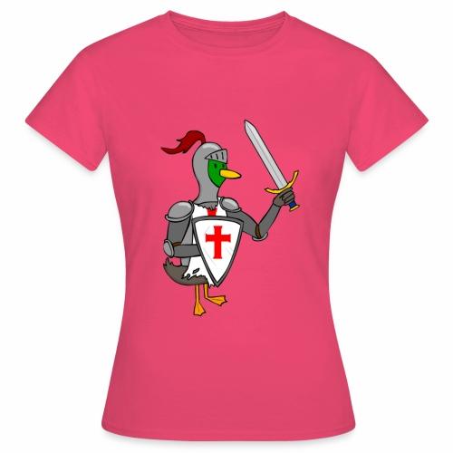 ducking crusade - Vrouwen T-shirt