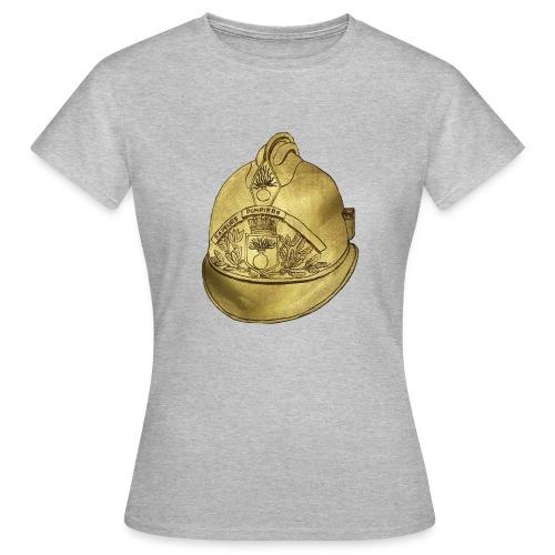 Casque pompier - T-shirt Femme
