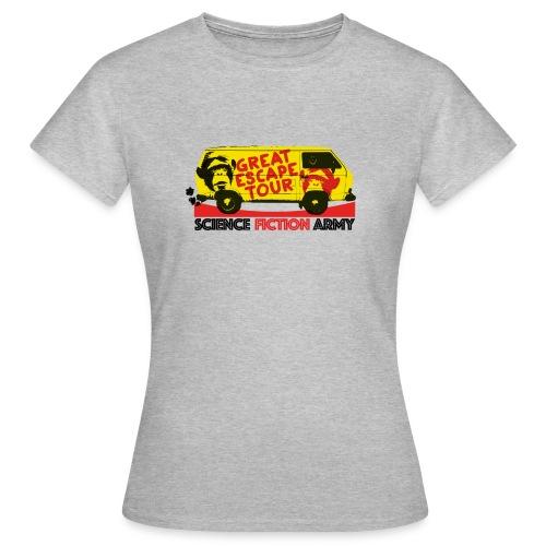 Plakat-TGE-Tour - Frauen T-Shirt