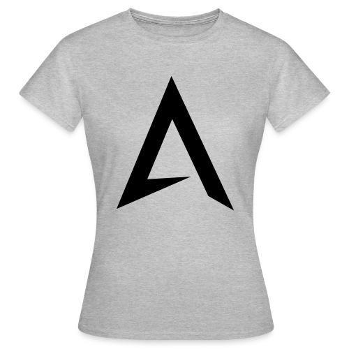 alpharock A logo - Women's T-Shirt