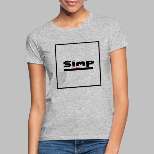 Standard Simp Logo Design - Vrouwen T-shirt