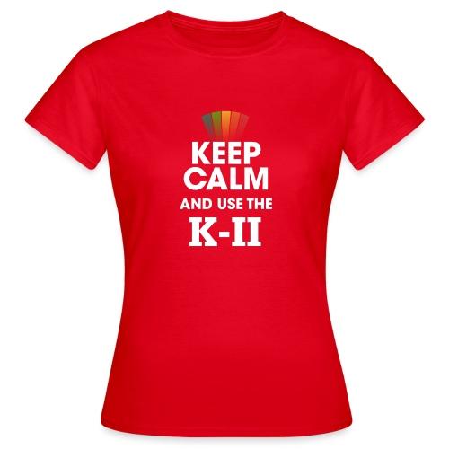 KEEP CALM KII png - T-shirt Femme