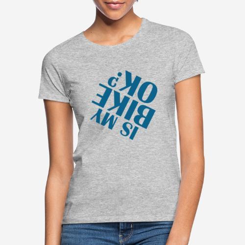Fahrradunfall fallen - Frauen T-Shirt