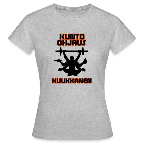 Kunto-ohjaus Kuukkanen Logo - Naisten t-paita