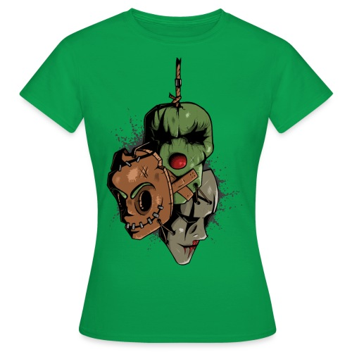 Vintage Masks - Frauen T-Shirt