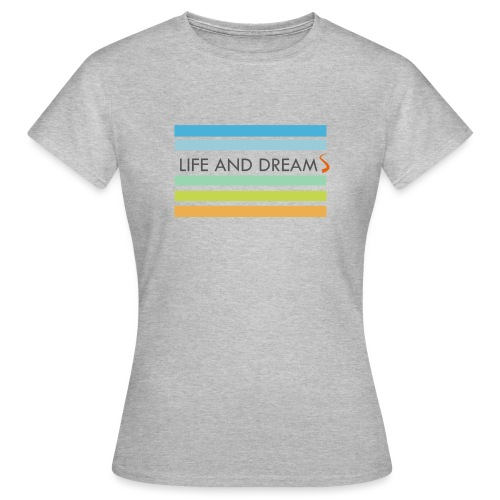Colores y letras - Camiseta mujer