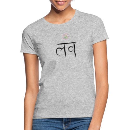 LOve SansKrit Black - T-shirt Femme