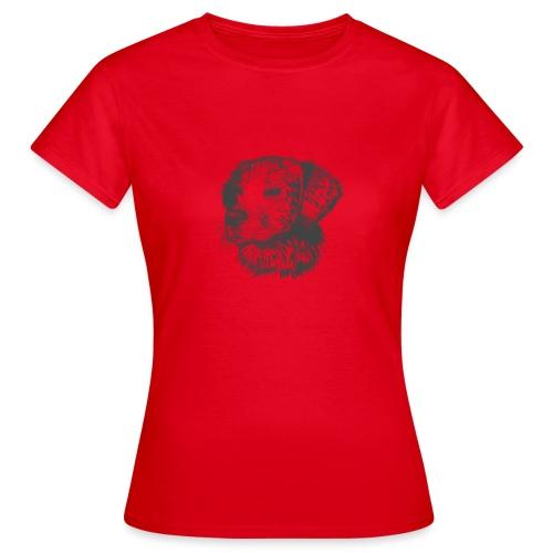koiran kuva - Naisten t-paita