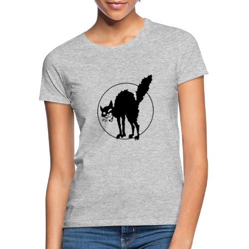 Chat noir - T-shirt Femme