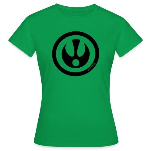FITTICS DARK BLUE SHIELD - Women's T-Shirt