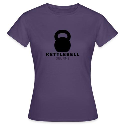 Kettlebell Deurne Logo Zwart - Vrouwen T-shirt