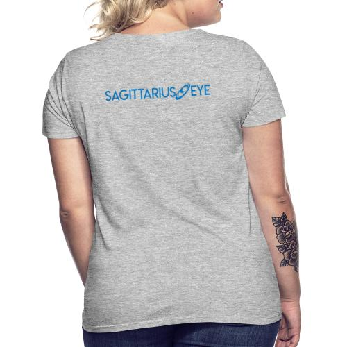 Sagittarius Eye Dual Branded - Women's T-Shirt
