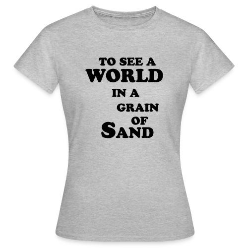 grainofsand - Vrouwen T-shirt