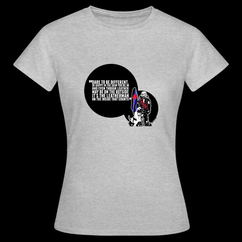 Mr Leather UK 2017 with Slogan - Women's T-Shirt