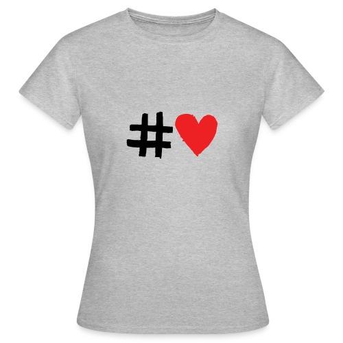 #Love - Dame-T-shirt