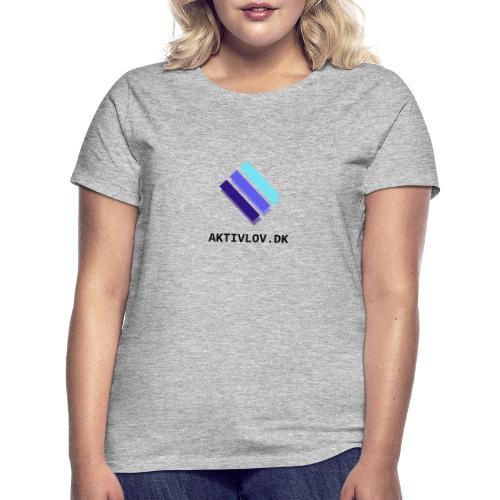 logo Aktiv transparent - Dame-T-shirt