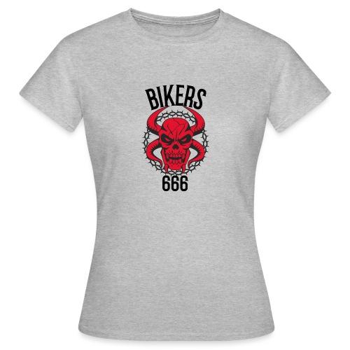 biker devil - T-shirt Femme