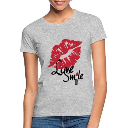 love smile - Camiseta mujer