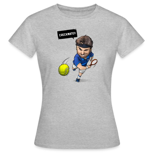 Alasdair checkmate logo - Women's T-Shirt