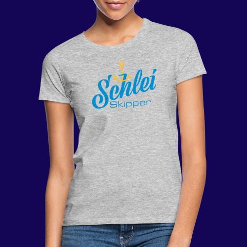 Schlei-Skipper mit Anker - Frauen T-Shirt