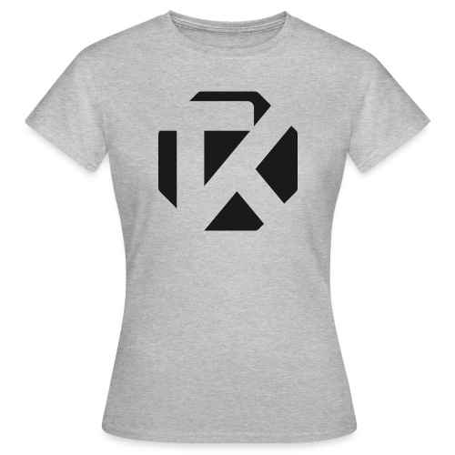 Logo TK Noir - T-shirt Femme