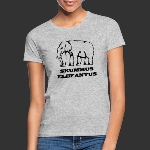 Skummus Elefantus - T-shirt dam