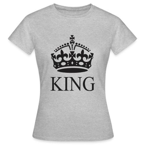 king - Camiseta mujer