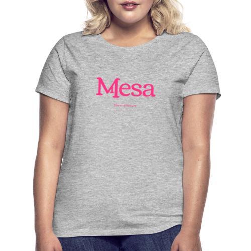 Nuestra Mesa - Camiseta mujer