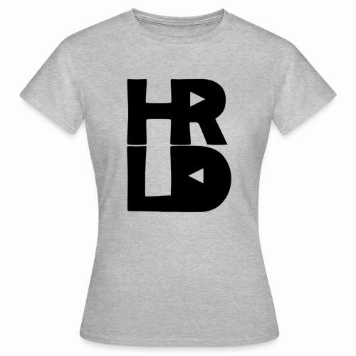 HRLD Black Logo - Naisten t-paita