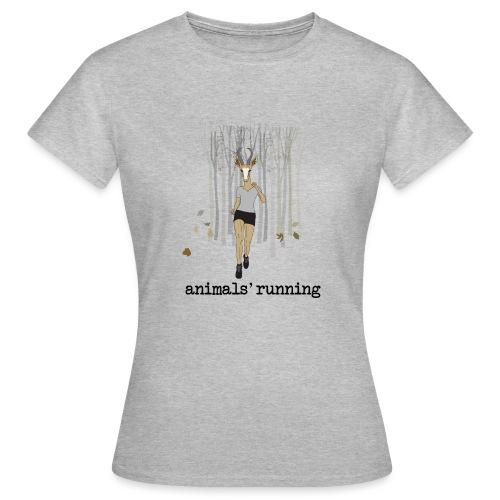 Antilope running - T-shirt Femme