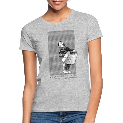 Der Bub mit der Harmonika - Frauen T-Shirt