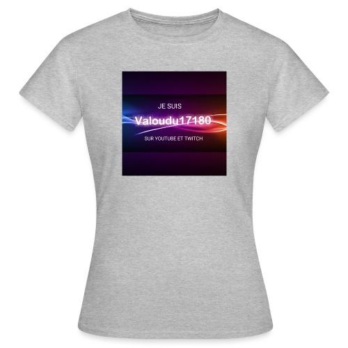 Valoudu17180twitch - T-shirt Femme