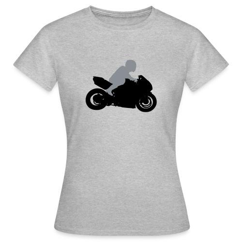 Biker Silhouette - Frauen T-Shirt