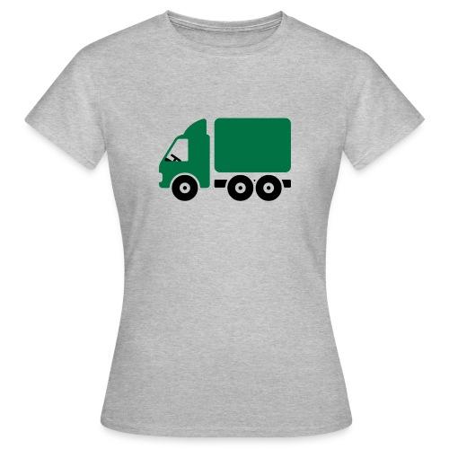 LKW Comic - Frauen T-Shirt