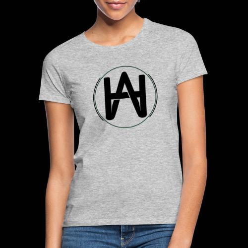 Hombre Alpha Logo Negro - Camiseta mujer