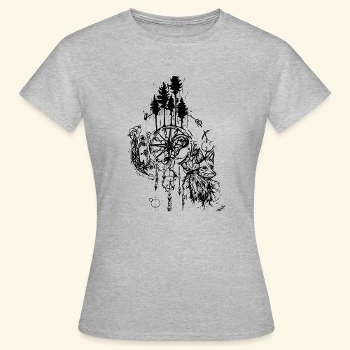 renard nature - T-shirt Femme