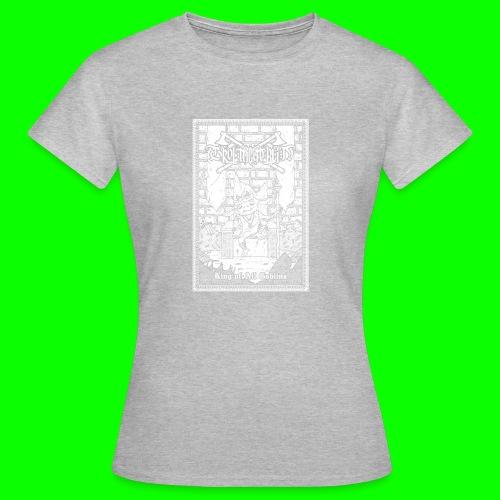 king of all goblins white on black - Women's T-Shirt
