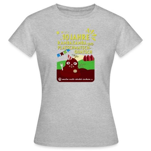 10 Jahre mzss - Frauen T-Shirt